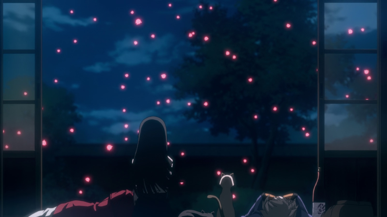 Makoto watches not-fireflies